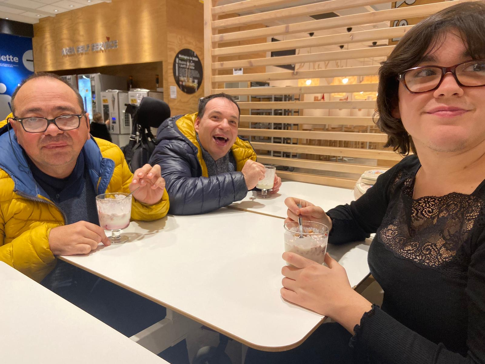 Esco di Casa: foto di Elisa, Luca e Dario