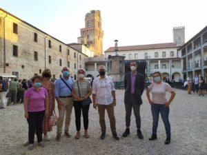 Amici dell'Irpea al Castello Carrarese di Padova alla festa del Tavolo Salute e Benessre #EVCapital2020